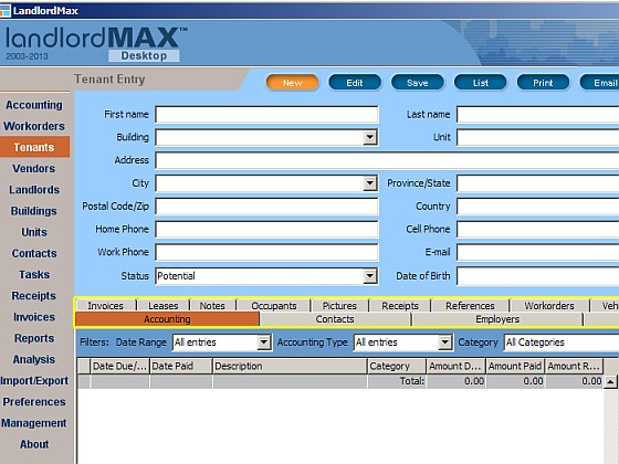 LandlordMax Screenshot 2